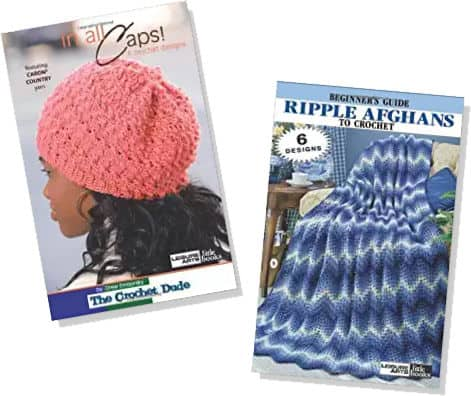 Crochet Prize Drawing: Two Leisure Arts Pattern Books