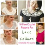 Roundup: 10 Free Crochet Patterns for Lace Collars