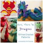 Link Blast: 10 Free Crochet Patterns for Dragons