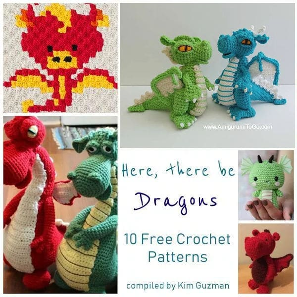 Gorgeous Crochet Baby Dragon For That Special Little In Your Life ... | 600x600