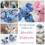 Link Blast: 10 Free Crochet Patterns for Elephants