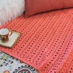 Peony Passion Throw CrochetKim Free Crochet Pattern