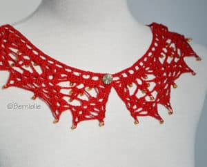 Link Blast: 10 Free Crochet Patterns for Lace Collars