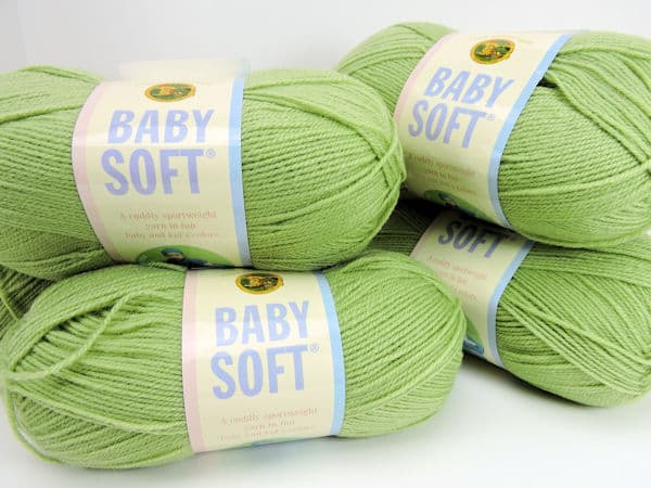 Crochet Prize Drawing: Five Skeins Lion Brand Baby Soft