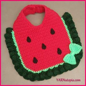 Link Blast: 10 Free Crochet Patterns for Watermelons