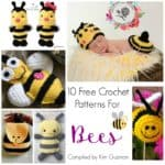 Roundup: 10 Free Crochet Patterns for Bees
