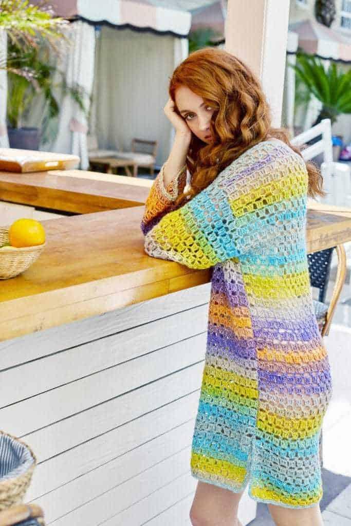 Orient Beach Tunic Free Crochet Pattern