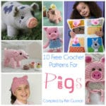 Link Blast: 10 Free Crochet Patterns for Piggy Pigs