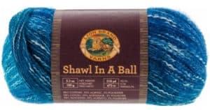 Lion Brand Shawl in a Ball Yarn