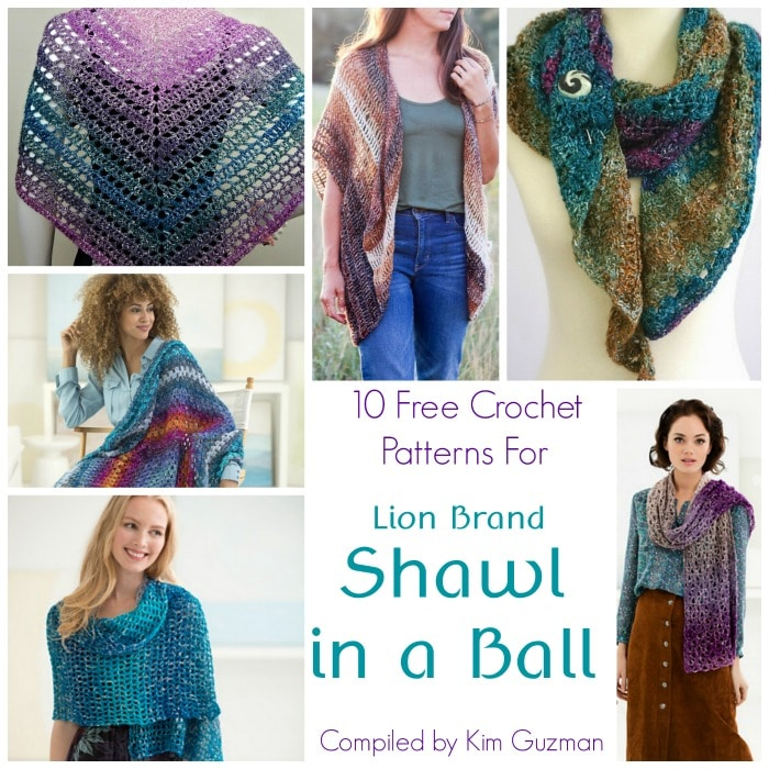eb6f06bc5d61 Free Shawl in a Ball Crochet Patterns