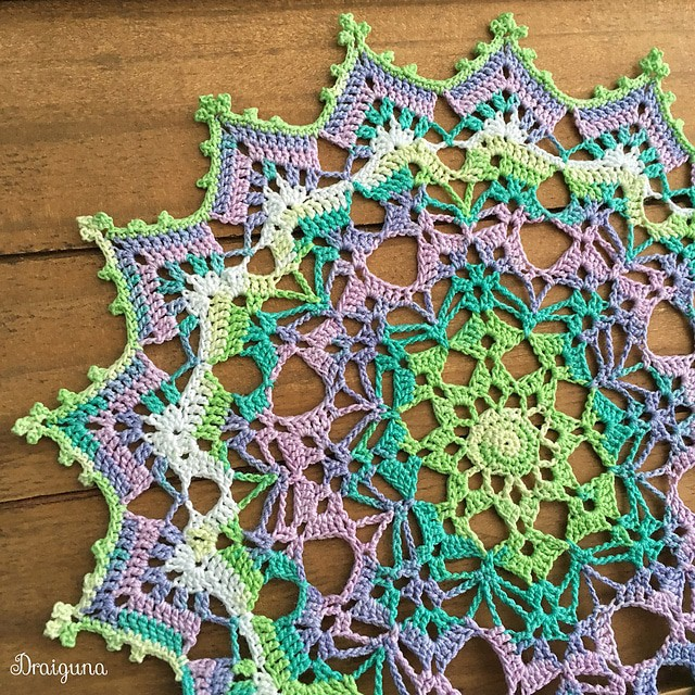 Free Crochet Pattern: Spring Brilliance