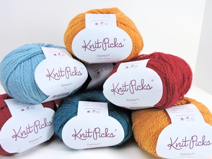CrochetKim Prize Entry: Knit Picks Palette Yarn