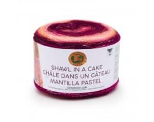 Lion Brand Shawl in a Cake Yarn