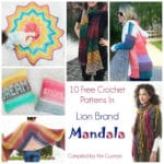 Link Blast: 10 Fantastic Free Crochet Patterns in Lion Brand Mandala