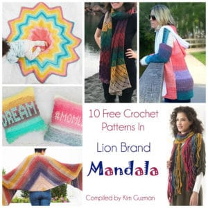 Link Blast: 10 Fantastic Free Crochet Patterns in Lion Brand Mandala
