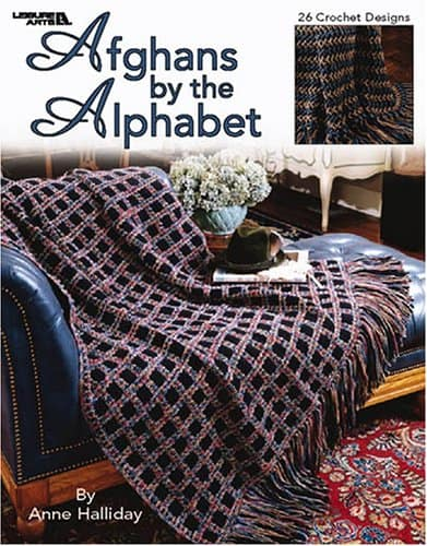 CrochetKim Weekly Giveaway | Afghans by the Alphabet by Anne Halliday
