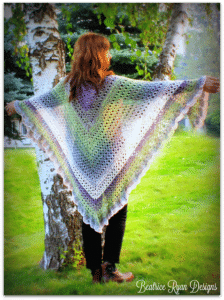Link Blast: 10 Favorite Free Crochet Patterns for Triangle Shawls