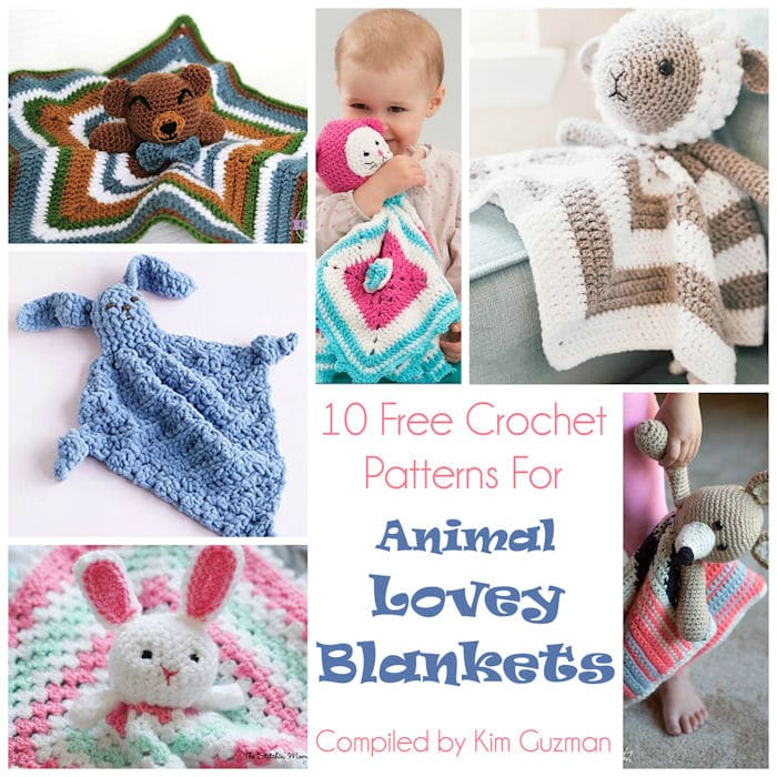 40 Free Crochet Animal Patterns | Handmade Holiday Gift Ideas Week 8 |  Underground Crafter | 700x700