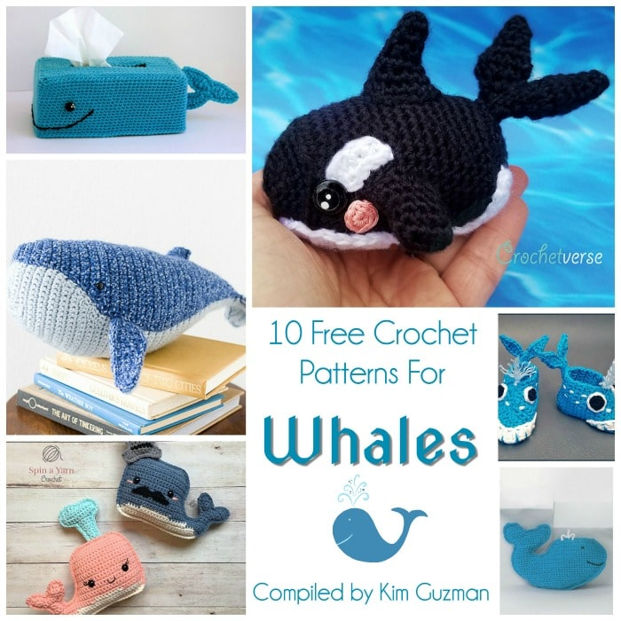 Baby Humpback Crochet Whale Free Pattern - One Dog Woof | 700x700