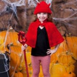 Little Devil Hat and Cape Costume Free Crochet Pattern