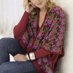 Christmas Country Wrap   CrochetKim Free Crochet Pattern