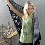 Delhi Shawl Wrap Free Crochet Pattern