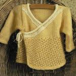 Kalari Baby Jacket Free Knit Pattern