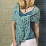 Oasis Wrap Free Crochet Pattern