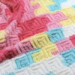 Patchwork Baby Blanket Free Crochet Pattern
