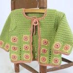 Shui Baby Jacket Free Crochet Pattern