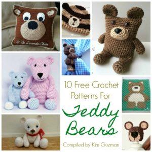 Link Blast: 10 Free Crochet Patterns for Teddy Bears