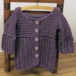 Toddler Hooded Jacket Free Crochet Pattern