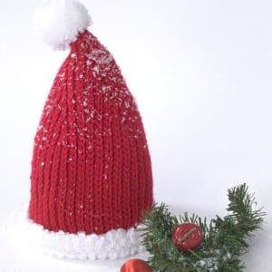 Baby Santa Hat Free Crochet Pattern