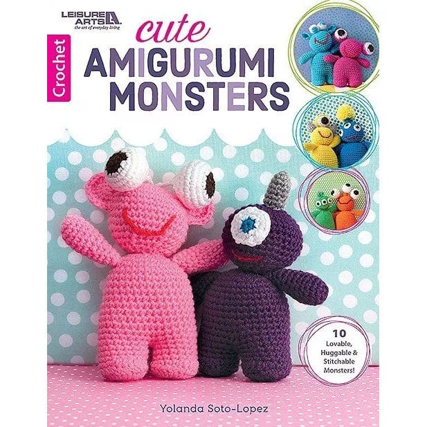 Crochetkim Book Review Cute Amigurumi Monsters Crochetkim