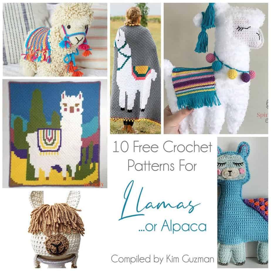 Alpaca Amigurumi Free Crochet Pattern | 1000x1000