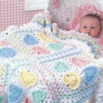 CrochetKim Book Review: Two Leisure Arts Little Books for Baby Afghans