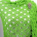 Wedding Rings Fling Shawl Wrap Free Crochet Pattern