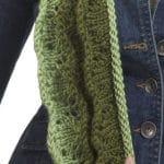 Knit Layered Scarf Free Pattern