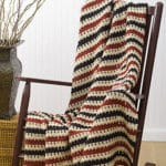 Cozy Man-Ghan Throw Free Crochet Pattern