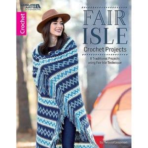 CrochetKim Giveaway: Fair Isle Crochet Projects by Melissa Leapman