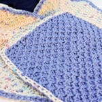 Honeycomb Scrubs Washcloth CrochetKim Free Crochet Pattern