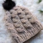 Oatmeal Slouchie Hat CrochetKim Free Crochet Pattern