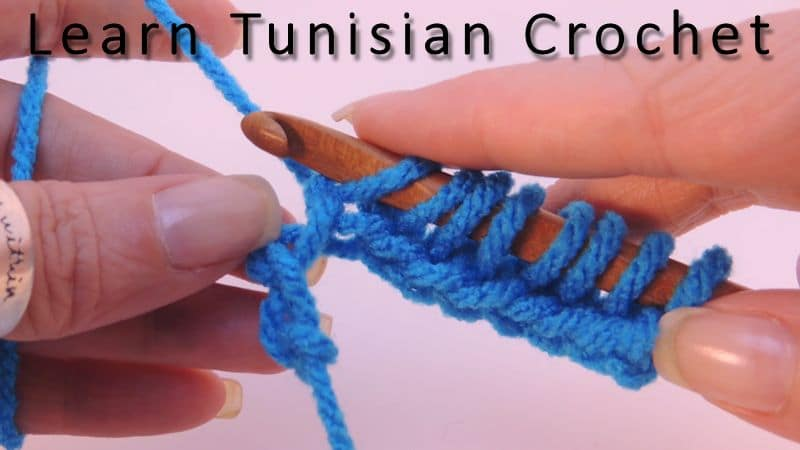 Learn Tunisian Crochet with Kim Guzman