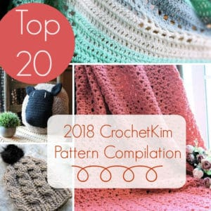 2018 Top 20 CrochetKim Pattern Compilation