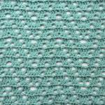 Chevron Lace Free Crochet Stitch Tutorial