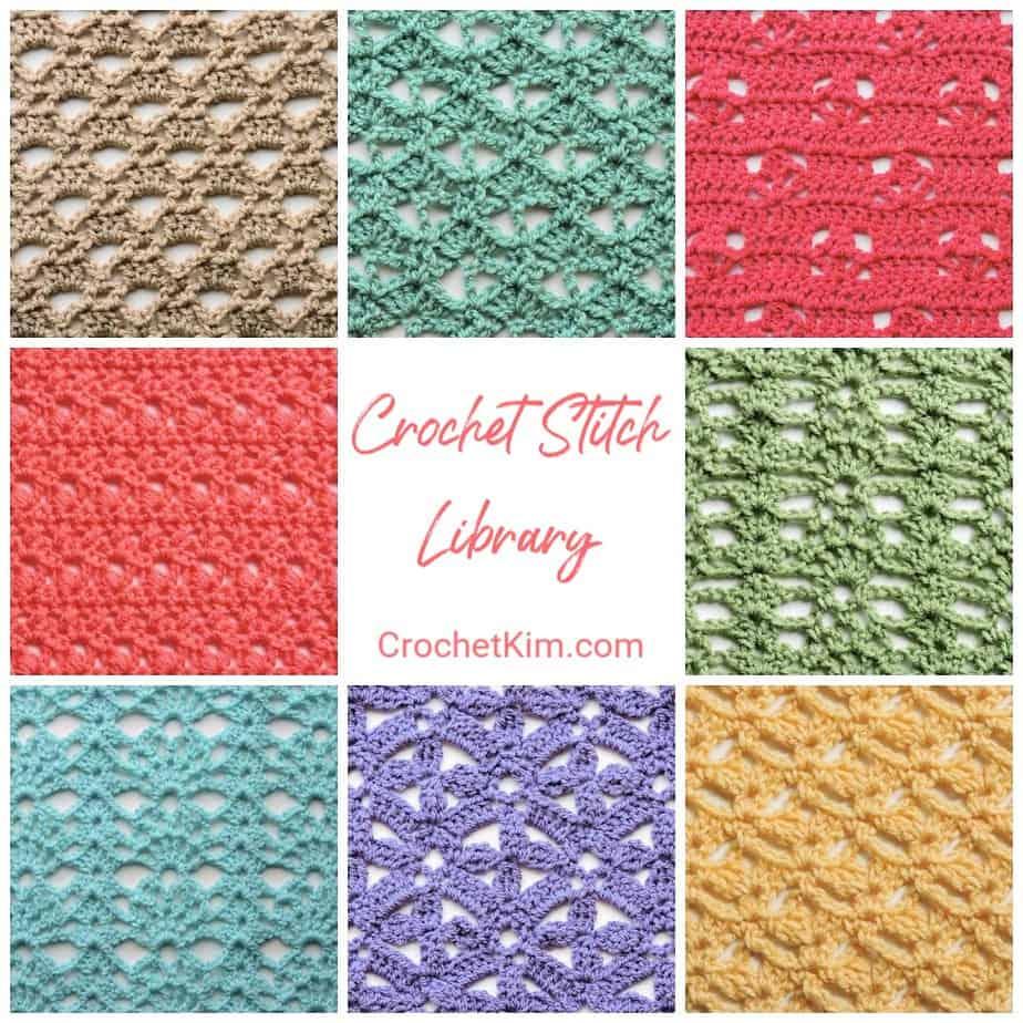 Over 30 Fabulous Free Crochet Lace Stitches Crochetkim Crochet