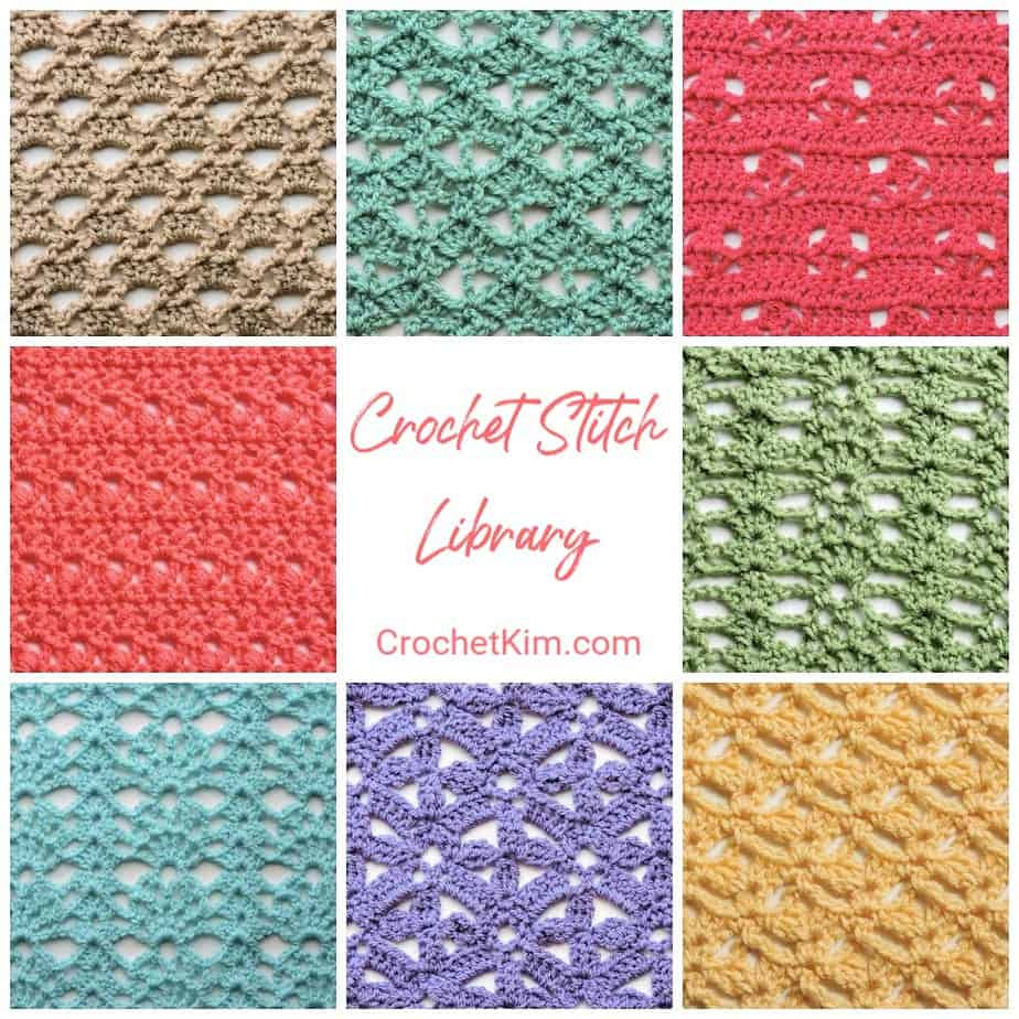 CrochetKim Crochet Stitch Library