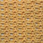 Fox Run Lace Free Crochet Stitch Tutorial