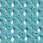 Butterfly Lace Free Crochet Stitch Tutorial