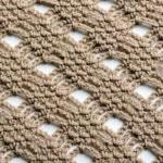 Moss Stitch Diamond Lace Free Crochet Stitch Tutorial